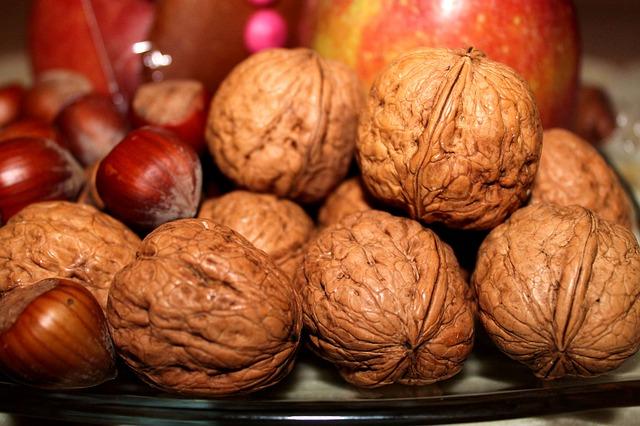 Mládí a štíhlost v hrstce vlašských ořechů