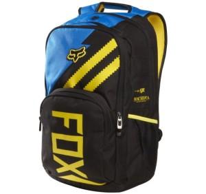 4Pánský batoh Fox Racing Let'S Ride Backpack Blue OS